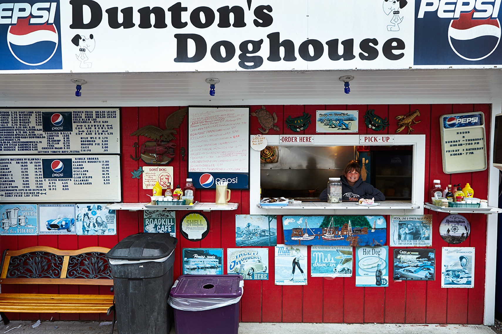 girl in duntons doghouse